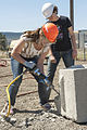2013 Construction Day - Jackhammer trainee (8771008357).jpg