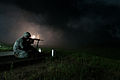 2013 U.S. Army Reserve Best Warrior Competition, M4 rifle night fire 130626-A-XN107-743.jpg