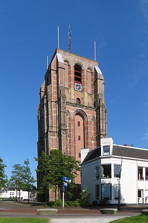 Oldehove (tower) - The Oldehove in 2014