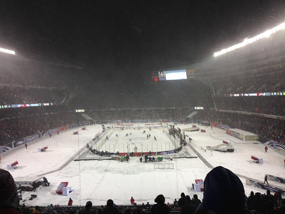2014 NHL Stadium Series, Soldier Field