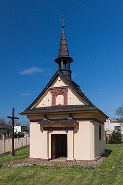 2014 Powiat wodzisławski, Olza, Kaplica Świętej Rodziny 01.jpg