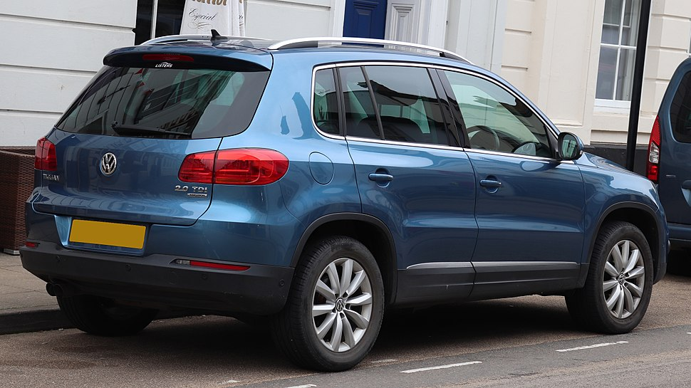 2014 Volkswagen Tiguan Match TDi BMT 4motion 2.0 Rear