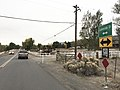 2015-10-27 17 29 05 View south along Lakeside Drive (Nevada State Route 671) at the intersection with Huffaker Drive near Reno, Nevada.jpg