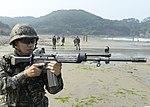 2015.7.14. 연평부대 - 지뢰탐지작전훈련 14th, July, 2015, ROK Marine YP Unit-Training to detect of mines (19768481691).jpg