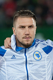 Ermin Bičakčić Bosnian association football player