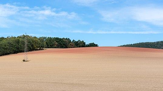 Terra Rossa on Chmielnik, Włodzickie Hills, Sudetes