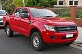 2015 Ford Ranger (PX) XL Hi-Rider 4-door utility (2015-11-11) 01.jpg