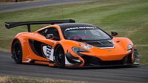 McLaren 650S - McLaren 650S GT3 at Goodwood Festival of Speed 2015