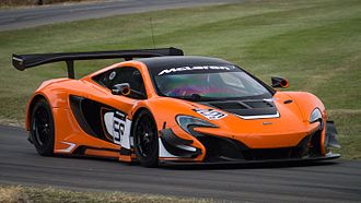 McLaren 650S - McLaren 650S GT3 at Goodwood Festival of Speed 2015
