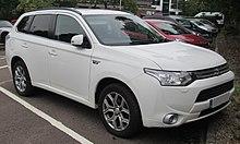 Pre Facelift Mitsubishi Outlander Phev