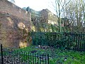 2016 Woolwich, old brick walls Armstrong Estate 02.jpg