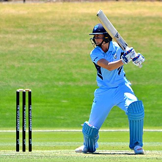 Ellyse Perry - Image: 2017–18 WNCL NSWB v ACTM 17 11 26 Perry (04)