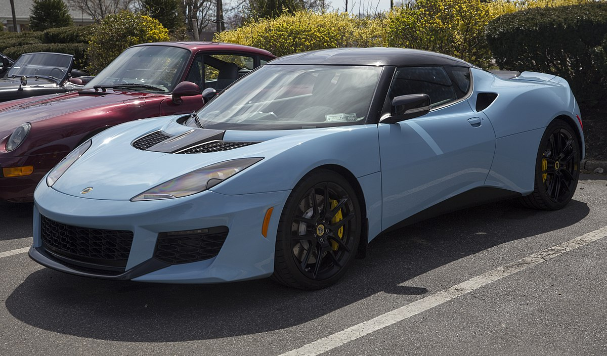 Lotus Evora Wikipedia