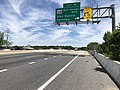 2019-05-21 11 53 28 View north along Interstate 97 (Glen Burnie Bypass) at Exit 16 (Maryland State Route 648-Baltimore-Annapolis Boulevard, Glen Burnie, Ferndale) in Ferndale, Anne Arundel County, Maryland.jpg