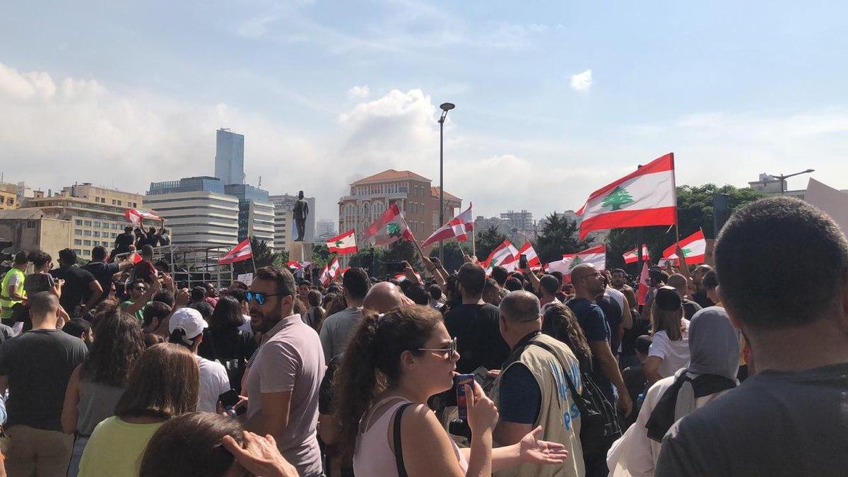 2019 Lebanese protests - Wikipedia