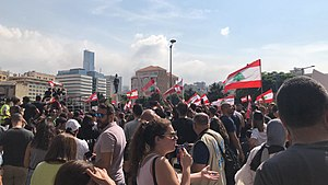 2019 Lebanese protests - Beirut 5.jpg
