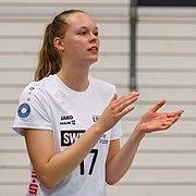 2021-10-09 Volleyball, 1. Bundesliga Frauen, Schwarz-Weiss Erfurt - 1. VC Wiesbaden 1DX 6724 by Stepro.jpg