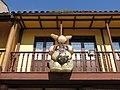 225 Balcó de la sidreria La Curuxa, pl. del Carbayo (Sabugo, Avilés).jpg