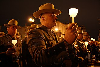 Candlelight vigil - Image: 22nd Candlelight Vigil.NLEOM.WDC.13Ma y 2010