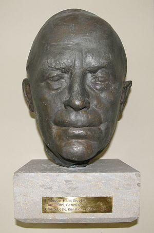 Hans Stubbe - Head cast of Hans Stubbe