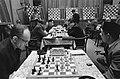 28e Hoogoven schaaktoernooi te Beverwijk, overzicht van de speelzaal, Bestanddeelnr 918-6688.jpg
