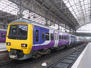 British Rail Class 323 - Northern Rail refurbished 323225 at Manchester Piccadilly
