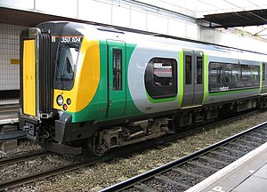 Impact of the privatisation of British Rail - London Midland, a rail franchise operator part-owned by SNCF