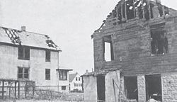 361 Main Street following the 1937 Fox vault fire