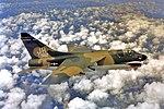 3d Tactical Fighter Squadron A-7D Corsair II 70-982 in flight.jpg