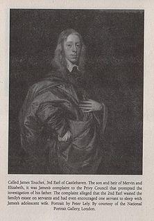 James Tuchet, 3rd Earl of Castlehaven Irish nobleman