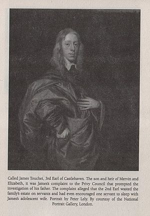Anne Stanley, Countess of Castlehaven - James Touchet, Baron Audley, was Anne Stanley's stepson and son in law. His complaint to the Privy Council led to his father's trial and execution.