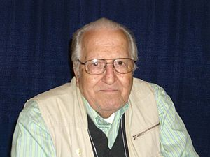 Nick Cardy - Nick Cardy at the 2008 New York Comic Con.