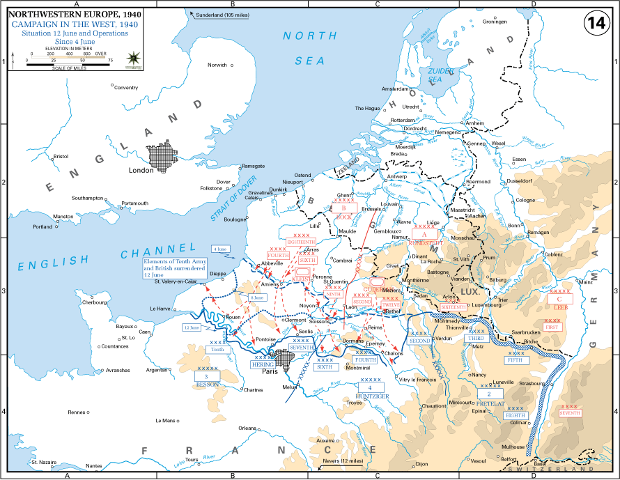 4June-12June Battle of France