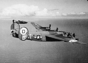 576th Flight Test Squadron - Consolidated B-24H-15-CF Liberator 41-29433 576th Bomb Squadron, 392nd Bomb Group, 8th Air Force