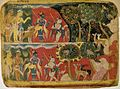 5 Masters of the Dispersed Bhagavata Purana. Krishna and Balarama Taking the Cattle to Graze Folio from a Bhagavata Purana Manuscript 1520-40. Museum Rietberg, Zurich.jpg