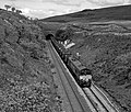 66237 leaving Blea Moor tunnel - 2002 (geograph 4606378).jpg