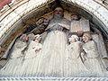 7392 - Venezia - Ex convento di S. Stefano - An. padovano - S. Agostino e frati (sec. XV) - Foto Giovanni Dall'Orto, 11-Aug-2008.jpg
