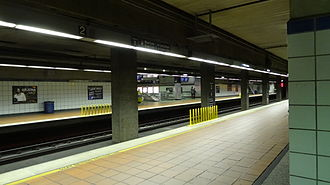 7th Street/Metro Center station - Image: 7th Street Metro Blue & Expo Lines Station 1