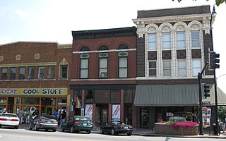 Eighth and Broadway Historic District historic district in Columbia, Missouri
