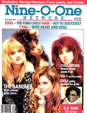 Nine-O-One Network Magazine - Cover of the December 1987 issue