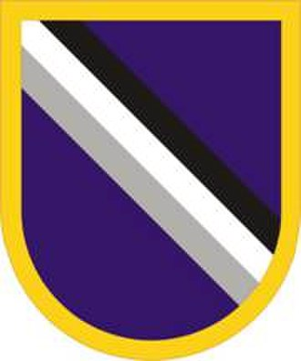 95th Civil Affairs Brigade - Image: 95Civil Affairs Bde Flash