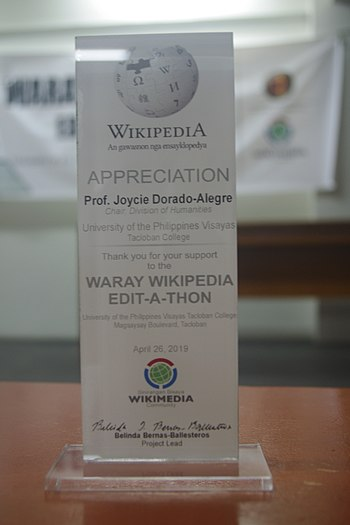 9th Waray Wikipedia Edit-a-thon 27.JPG