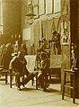 Ažbetova šola s tremi gojenci 1897.jpg