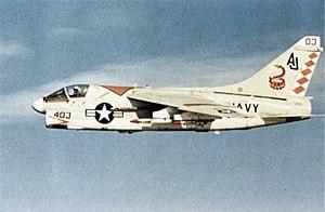 A-7C Corsair VA-86 in flight 1974.jpg