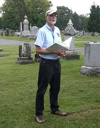 A. Wilson Greene - Greene leading a Civil War tour, 2012