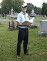 A. Wilson Greene leading Civil War tour, 2012.jpg