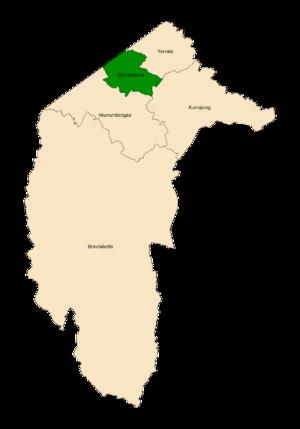 Ginninderra electorate - Image: ACT Electorates 2016 Ginnindera