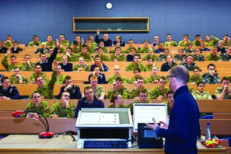 Lecture - Lecture at the Australian Defense Force Academy