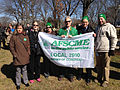 AFSCME Local 2910, Library of Congress - Union members with banner.jpg