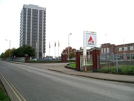 AGCO kantoorgebouw in Coventry, GB